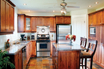 Traditional House Plan Kitchen Photo 01 - 032D-0239 | House Plans and More