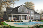Bungalow House Plan Front Photo 01 - 032D-0241 | House Plans and More