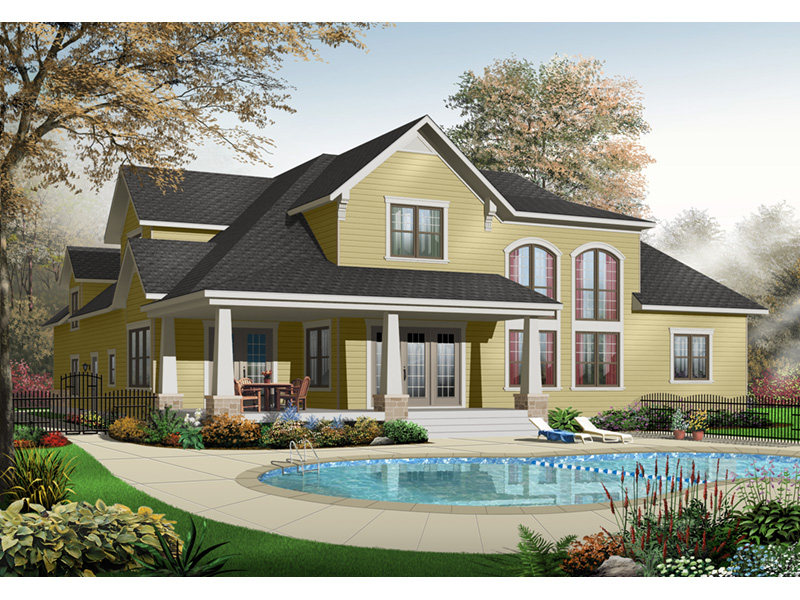 Bungalow House Plan Front Photo 02 - 032D-0241 | House Plans and More
