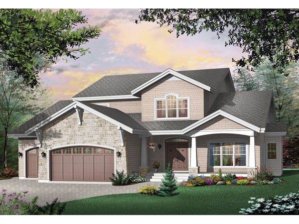 Clemmons luxury craftsman home plan 032d 0243 house for Luxury craftsman home plans