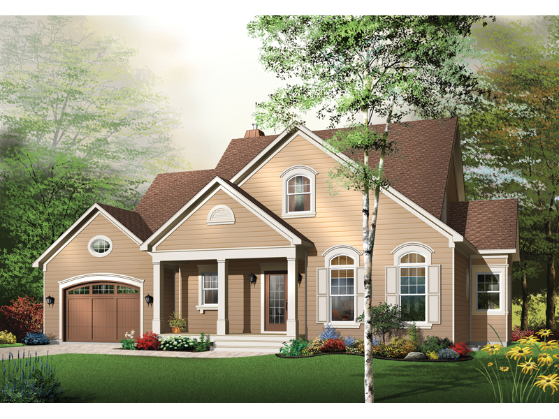 Neoclassical Home Plan Front Image - 032D-0244 | House Plans and More