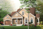 Southern House Plan Front Image - 032D-0244 | House Plans and More