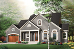 Southern House Plan Front Photo 01 - 032D-0244 | House Plans and More