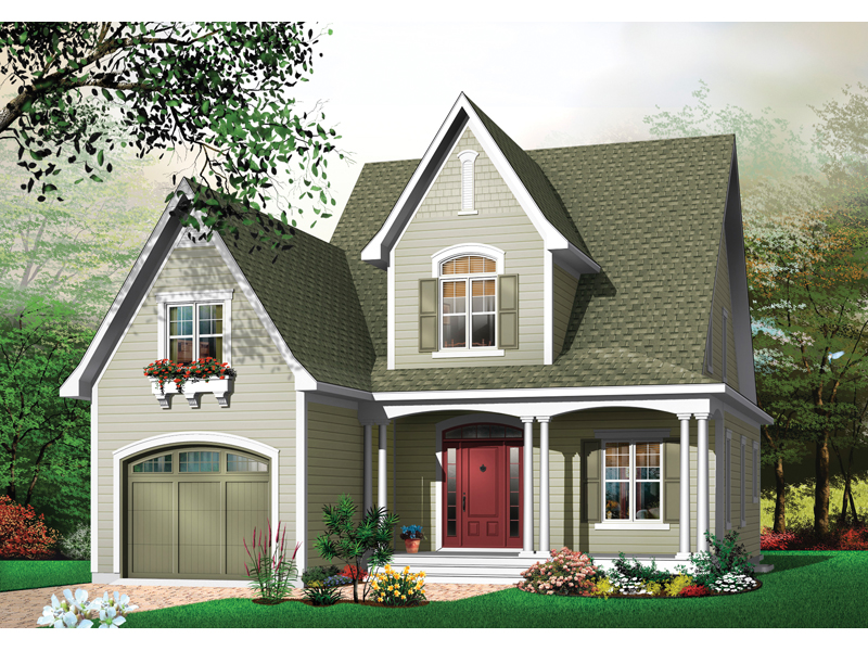 Willow spring country home plan 032d 0247 house plans for The willow house plan