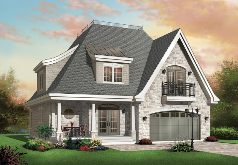 European House Plan Front Photo 01 - 032D-0250 | House Plans and More
