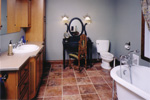 Bungalow House Plan Bathroom Photo - 032D-0261 | House Plans and More
