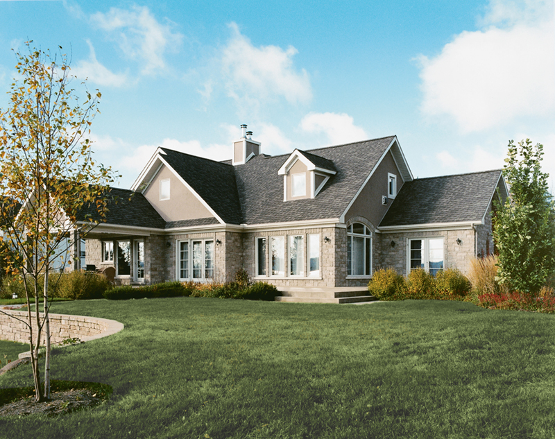 Traditional House Plan Front of Home 032D-0261