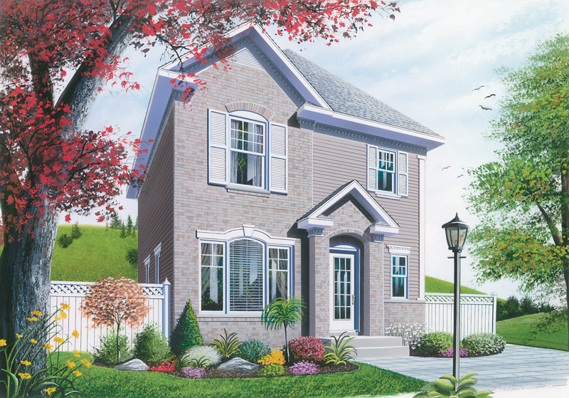 European House Plan Front Photo 01 - 032D-0265 | House Plans and More