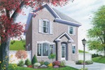 Traditional House Plan Front Photo 01 - 032D-0265 | House Plans and More