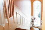 European House Plan Stairs Photo - 032D-0268 | House Plans and More