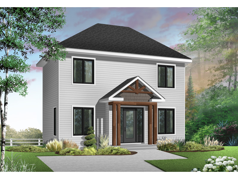 Traditional House Plan Front Photo 01 - 032D-0270 | House Plans and More