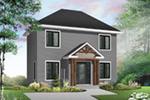 Colonial House Plan Front Photo 03 - 032D-0270 | House Plans and More