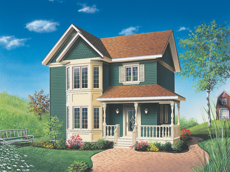 Front Photo 01 - 032D-0271 | House Plans and More