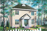 Traditional House Plan Front Image - 032D-0273 | House Plans and More