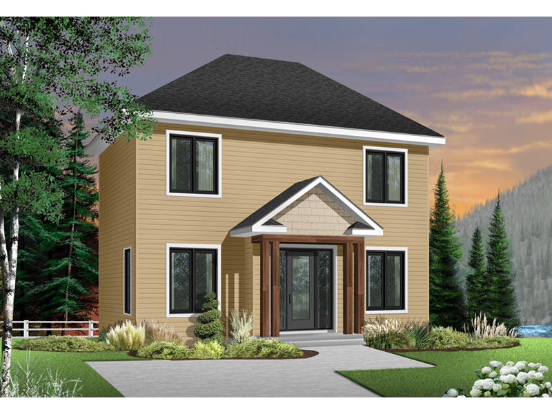 Traditional House Plan Front Photo 01 - 032D-0273 | House Plans and More