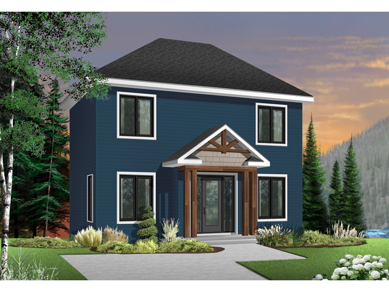 Traditional House Plan Front Photo 02 - 032D-0273 | House Plans and More