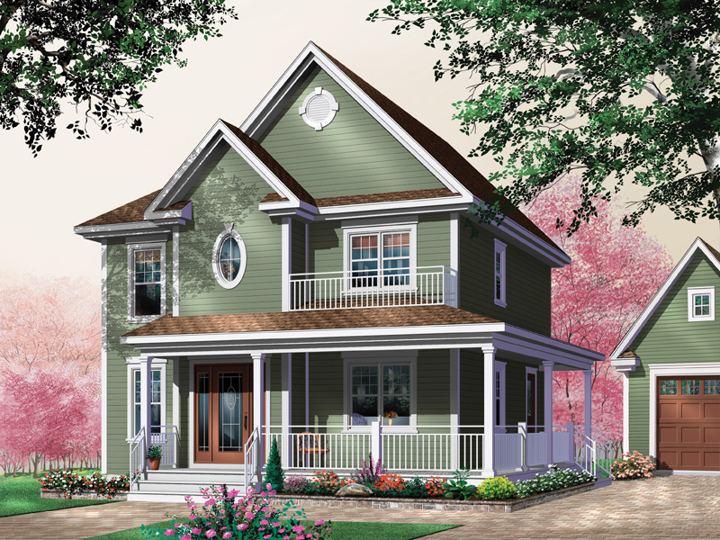 Farmhouse Plan Front Photo 01 - 032D-0280 | House Plans and More