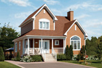 Delightful Two-Story Home Radiates Casual Country Style