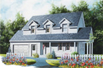 Country House Plan Front Image - 032D-0301 | House Plans and More