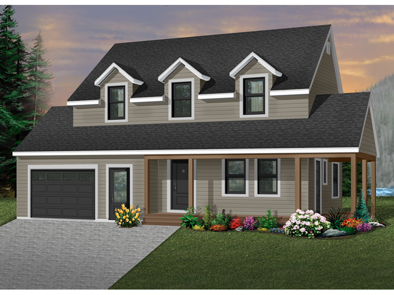 Country House Plan Front Photo 01 - 032D-0301 | House Plans and More