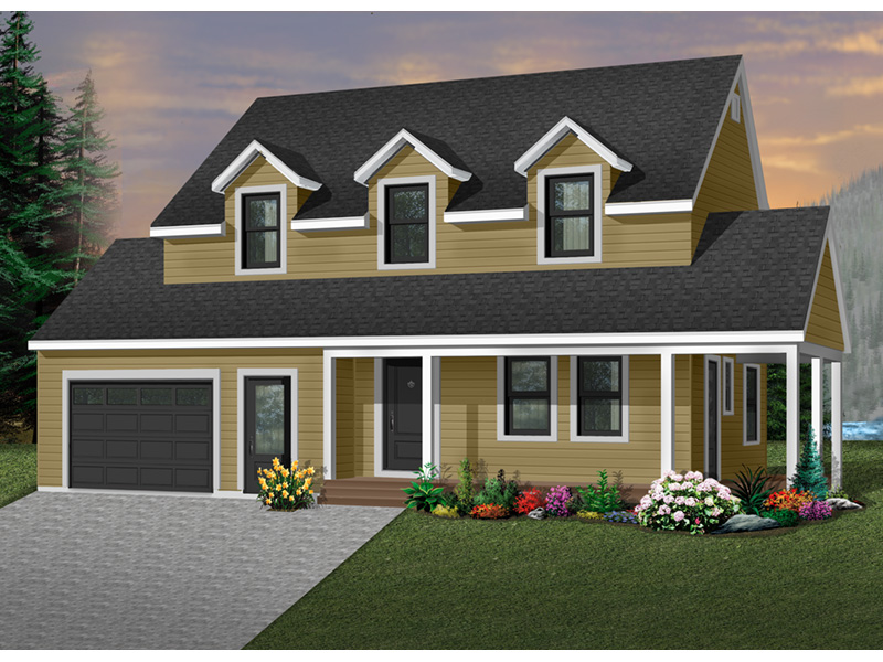 Country House Plan Front Photo 02 - 032D-0301 | House Plans and More