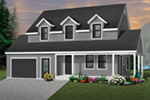 Country House Plan Front Photo 03 - 032D-0301 | House Plans and More
