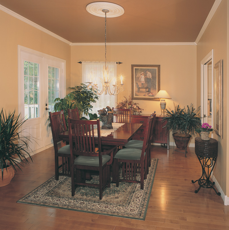Country House Plan Dining Room Photo 01 032D-0341