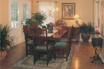 pleasant and comfortable dining room 
