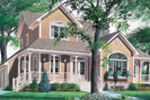 Traditional House Plan Front Photo 01 - 032D-0341 | House Plans and More