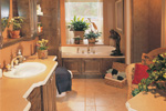 Southern House Plan Master Bathroom Photo 01 - 032D-0341 | House Plans and More