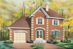 European House Plan Front Image - 032D-0347 | House Plans and More