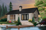 Vacation House Plan Front Photo 02 - 032D-0357 | House Plans and More