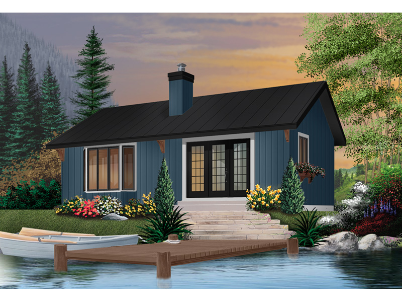 Ranch House Plan Front Photo 03 - 032D-0357 | House Plans and More
