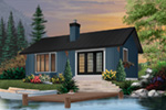 Vacation House Plan Front Photo 03 - 032D-0357 | House Plans and More
