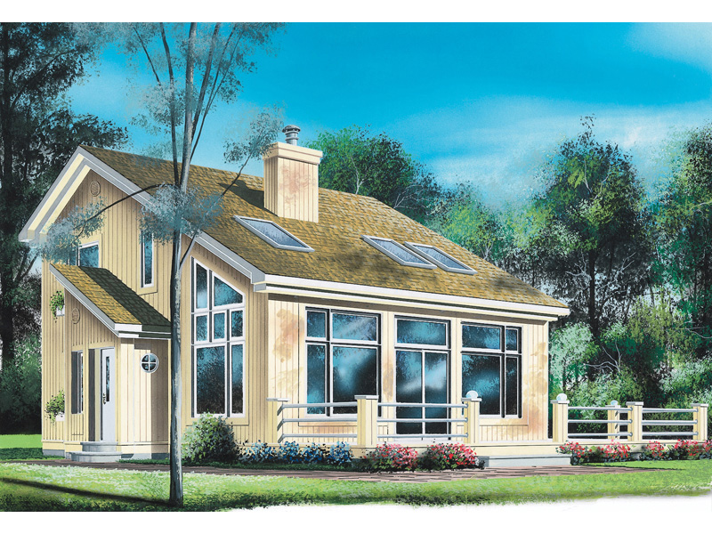 Modern House Plan Front Image - 032D-0362 | House Plans and More