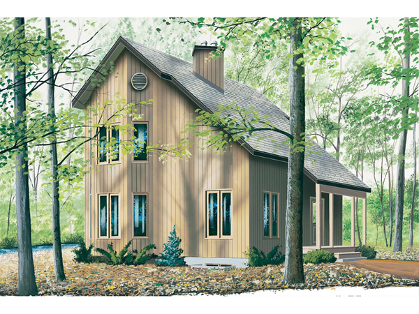 Topsider salt box style home plan 032d 0364 house plans Saltbox cabin plans