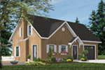 Rustic Home Plan Front Photo 01 - 032D-0366 | House Plans and More