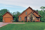Rustic Home Plan Front Photo 02 - 032D-0368 | House Plans and More