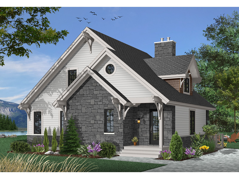 Lake House Plan Front Photo 04 - 032D-0368 | House Plans and More
