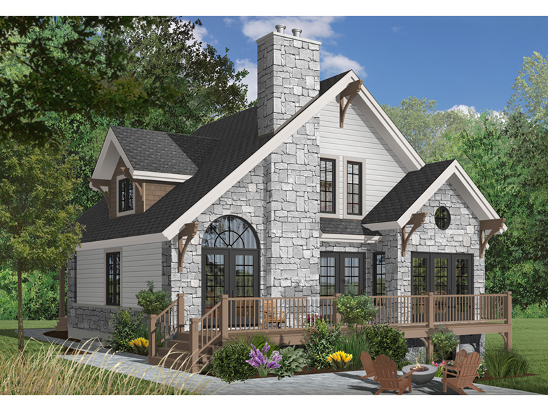 Rear Photo 02 - 032D-0368 | House Plans and More