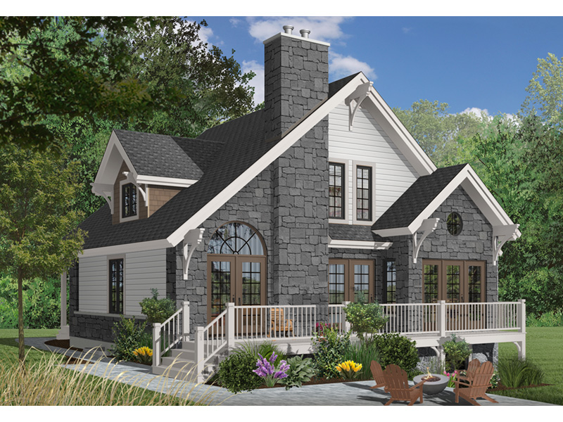 Rear Photo 03 - 032D-0368 | House Plans and More