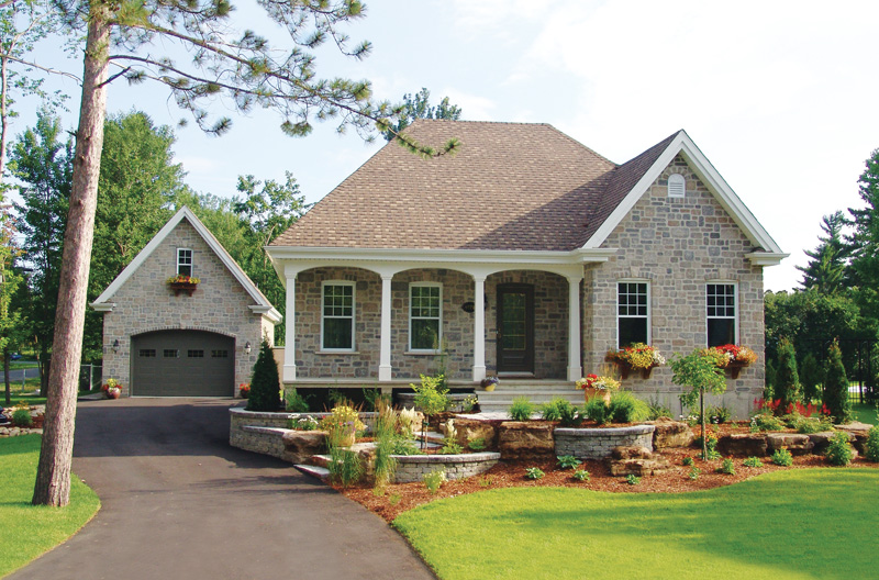 English Cottage House Plan Front of Home - 032D-0390 | House Plans and More