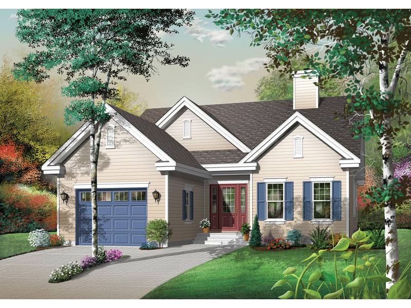 Traditional House Plan Front Image - 032D-0391 | House Plans and More