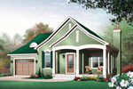 Arts & Crafts House Plan Front Image - 032D-0398 | House Plans and More