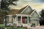 Craftsman House Plan Front Image - 032D-0402 | House Plans and More
