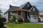 Raised Ranch Home Has Country Craftsman Style