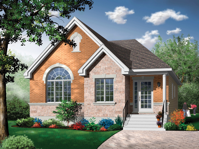 Southern House Plan Front Photo 01 - 032D-0414 | House Plans and More