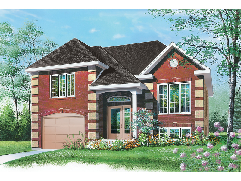 Southern House Plan Front of Home - 032D-0417 | House Plans and More