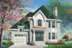 Arts and Crafts House Plan Front Photo 01 - 032D-0424 | House Plans and More