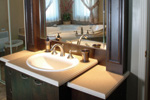 Country French Home Plan Bathroom Photo 02 - 032D-0427 | House Plans and More